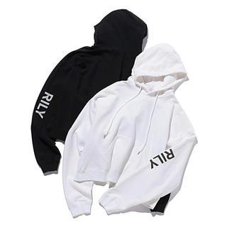 RILY logo hoodie black(パーカー)