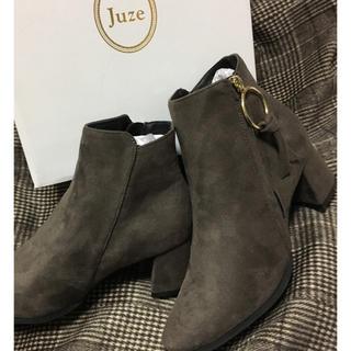 ジュゼ(Juze)の【送料無料】未使用 Juze ショートブーツ Lサイズ(ブーツ)