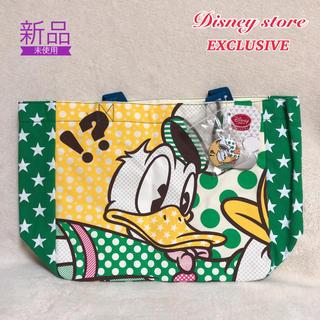 ディズニー(Disney)の【新品】Disney ドナルドダック トート レッスンバッグ(トートバッグ)