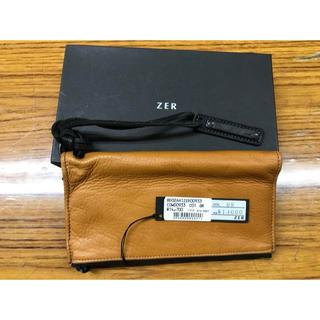ゼットイーアール(ZER)のZER 長財布 ほぼ未使用(長財布)