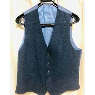 ヒルトンタイム(HILTON TIME)のジレ ベスト スーツ、ジャケット用 細身  購入価格12,000円(スーツベスト)
