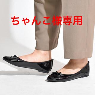 サック(SAC)の☆送料込み☆ SVEC バレエシューズ & ローズバッドボーダーワンピース(バレエシューズ)