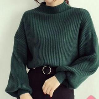 ザラ(ZARA)の~新品 バルーンスリーブ ニット ~(ニット/セーター)