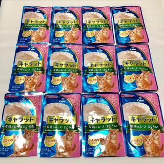 ニッシンペットフード(日清ペットフード)の【子猫用】総合栄養食 キャラット 60g×12袋(ペットフード)