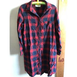 コルテラルゴ(CorteLargo)のコルテラルゴ ロングチェックシャツ(シャツ/ブラウス(長袖/七分))
