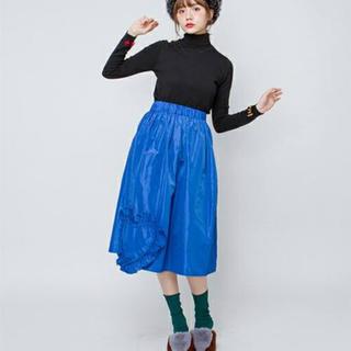 メリージェニー(merry jenny)のフリルハート スカート(ひざ丈スカート)