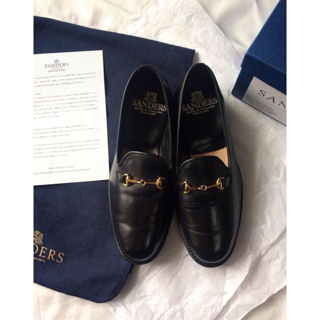SANDERS(サンダース)のSANDERS ホースレザー ビット スリッパー シューズ ビットローファー レディースの靴
