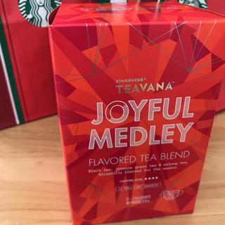 スターバックスコーヒー(Starbucks Coffee)のスタバ ホリデー ティバーナ ジョイフルメドレー 12袋(茶)