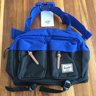 ハーシェル(HERSCHEL)のハーシェルサプライHerschel Supply青黒ボディーバッグ*新品(ボディーバッグ)