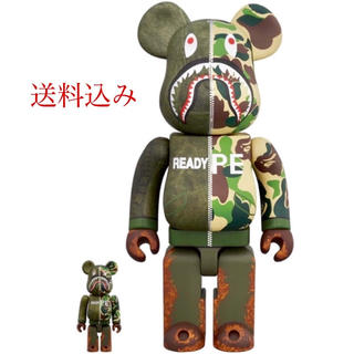 A BATHING APE - BE@BRICK READYMADE x BAPE 400%&100%