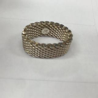 ティファニー(Tiffany & Co.)のティファニー メッシュリング(リング(指輪))