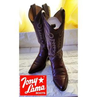 トニーラマ(Tony Lama)の美品【Tony Lama】大人気ウェスタンブーツ size 23.0cm(ブーツ)