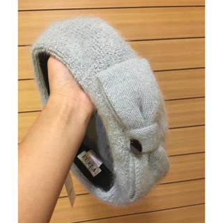 フルラ(Furla)のなつめ様専用【未使用】FURLA  ベレー帽 アンゴラ 帽子 (ハンチング/ベレー帽)