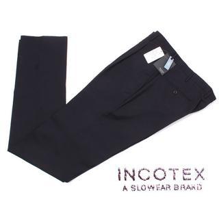 インコテックス(INCOTEX)のINCOTEX SLIM fit SUPER100's トロピカルウールパンツ (スラックス)