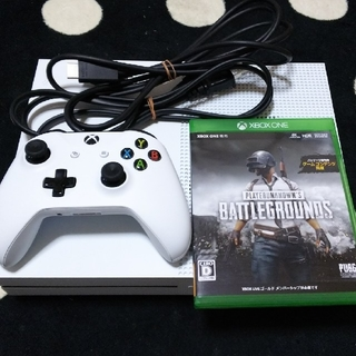 エックスボックス(Xbox)のXbox  one  s(マイクラなし。PUBG)(家庭用ゲーム機本体)
