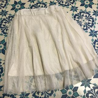 ジーユー(GU)のGU☆チュールスカート☆140(スカート)
