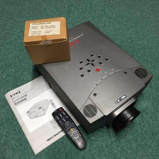 EIKI LC-X1100 ビデオプロジェクター(ジャンク)+交換ランプ(プロジェクター)