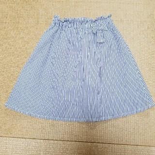ブリーズ(BREEZE)のBREEZEストライプスカート140双子②(スカート)