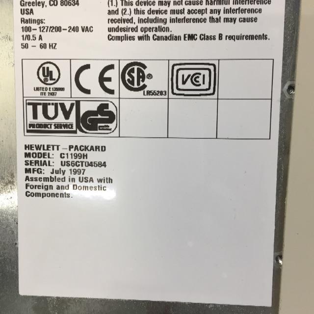 HP(ヒューレットパッカード)のHP DLT4000D テープストリーマーSCSI + テープ その他のその他(その他)の商品写真