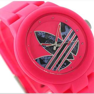 アディダス(adidas)のアディダスオリジナルス アバディーン クオーツ ピンク(腕時計)