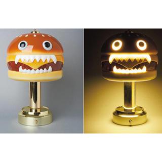 アンダーカバー(UNDERCOVER)のUNDERCOVER MEDICOM TOY HAMBURGER LAMP新品(フロアスタンド)