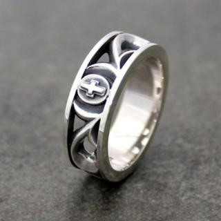 アクアシルバー アラベスク クロスシルバーリング(リング(指輪))