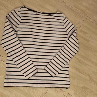 ジーユー(GU)のボーダー カットソー(Tシャツ(長袖/七分))