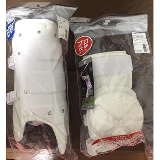 エスエスケイ(SSK)のSSK プロモデル エルボー&フットガード 左打者用(防具)