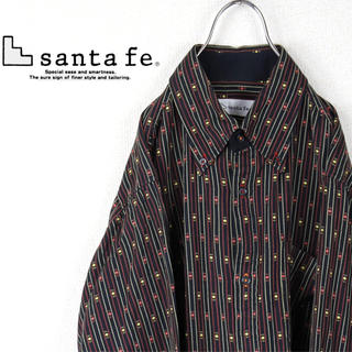 サンタフェ(Santafe)の古着 サンタフェ シャツ 総柄 Santa fe (シャツ)
