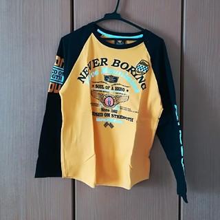 バッドボーイ(BADBOY)の黒と黄色のロゴ入りTシャツ(Tシャツ/カットソー(七分/長袖))