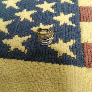 ダブルフェザーリング サイズフリー イエローゴールド(リング(指輪))