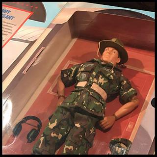 GIジョー フィギュア【未開封品】U.S.ARMY DRILL SERGEANT(ミリタリー)