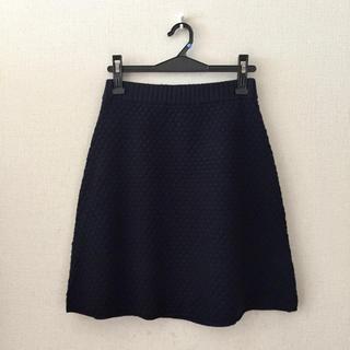 スリードッツ(three dots)のスリードッツ♡ニットスカート(ひざ丈スカート)