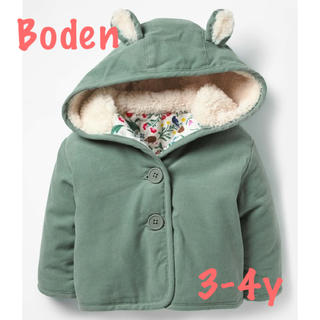ボーデン(Boden)の【値下げ】Boden♡新品コーデュロイジャケット♡3-4y(ジャケット/上着)