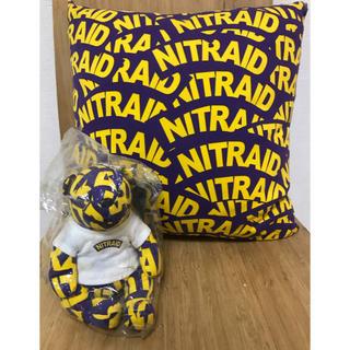nitraid TEDDY BEAR 、クッション  セット