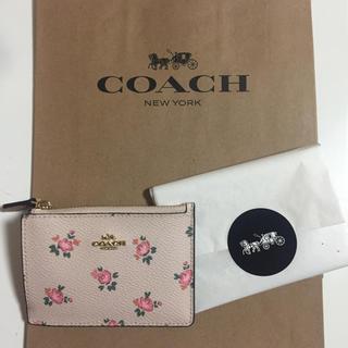 コーチ(COACH)のCOACH 定期入れ コーチ パスケース  新作 花柄 新品未使用 (名刺入れ/定期入れ)