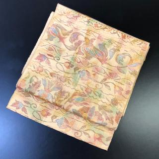 正絹。織りの名古屋帯(帯)