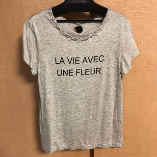 ジャスグリッティー(JUSGLITTY)のJUSGLITTY ビジュー Tシャツ(Tシャツ(半袖/袖なし))