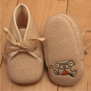 エルメス(Hermes)のHERMES カシミヤ100% 赤ちゃん靴(スニーカー)