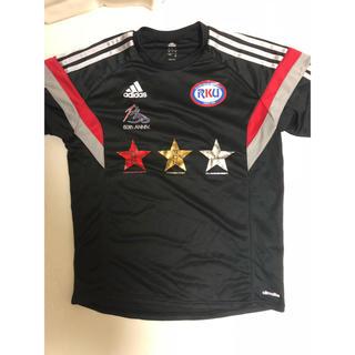 アディダス(adidas)の流経大サッカー50周年記念tシャツ(サッカー)