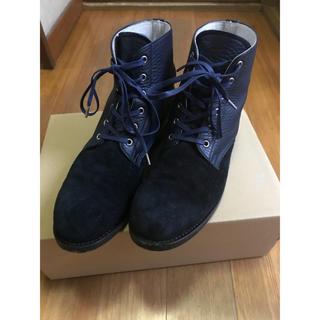 ディスカバード(DISCOVERED)のDiscovered ディスカバード ブーツ 青 レザー(ブーツ)