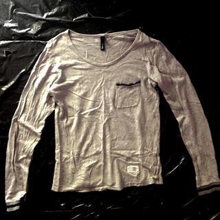 サイラス(SILAS)のSILAS サイラス カットソー ロンT アッシュグレー 灰 サイズ1(Tシャツ/カットソー(七分/長袖))