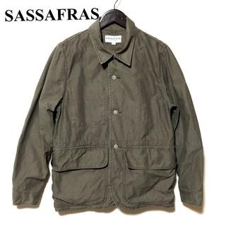 ササフラス(SASSAFRAS)のSASSAFRAS ササフラス ポケットポケットジャケット S(カバーオール)