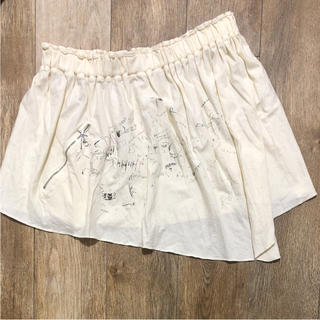 ストフ(stof)のSTOF ストフ◇プリントデザインスカート◇ohtakanata(ミニスカート)