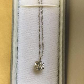 ダイヤモンド ネックレス 1ct 一粒(ネックレス)