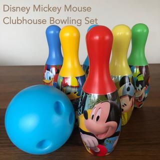 ディズニー(Disney)のディズニー ボーリングセット(知育玩具)