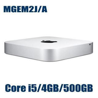 マック(Mac (Apple))の新品 Apple Mac mini マックミニ MGEM2J/A 500GB(デスクトップ型PC)