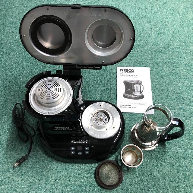 NescoコーヒーロースターCR-1010-PRR(お試し生豆付き) インテリア/住まい/日用品のキッチン/食器(調理道具/製菓道具)の商品写真