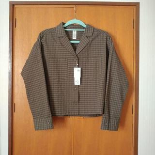 エルビーシー(Lbc)のLBC ギンガム開襟シャツ(シャツ/ブラウス(長袖/七分))