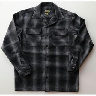 エフビーカウンティ(FB COUNTY)のエフビー カウンティ ウールシャツ ブラック グレー(シャツ)